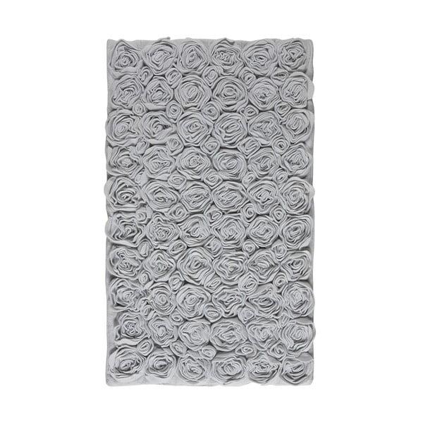 Koupelnová předložka Rose 70x120 cm, šedá