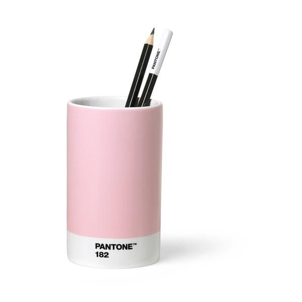 Różowy ceramiczny kubek na ołówki Pantone