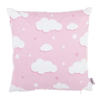 Față de pernă din bumbac Apolena Skies, 35 x 35 cm, roz de la Apolena