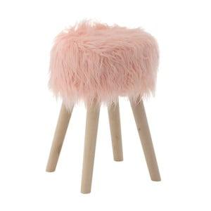 Růžová stolička InArt Pink