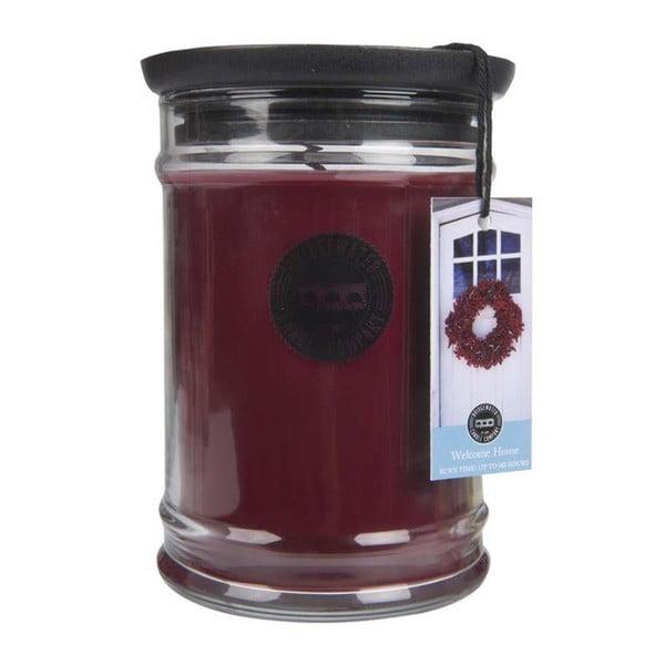 Welcome Home illatos gyertya üveg tartóban, égési idő 140-160 óra - Creative Tops
