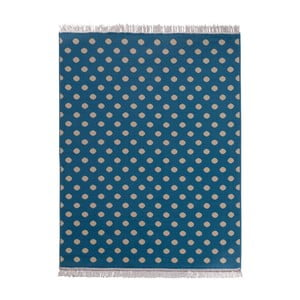 Covor  Fringe - albastru, 140x200 cm