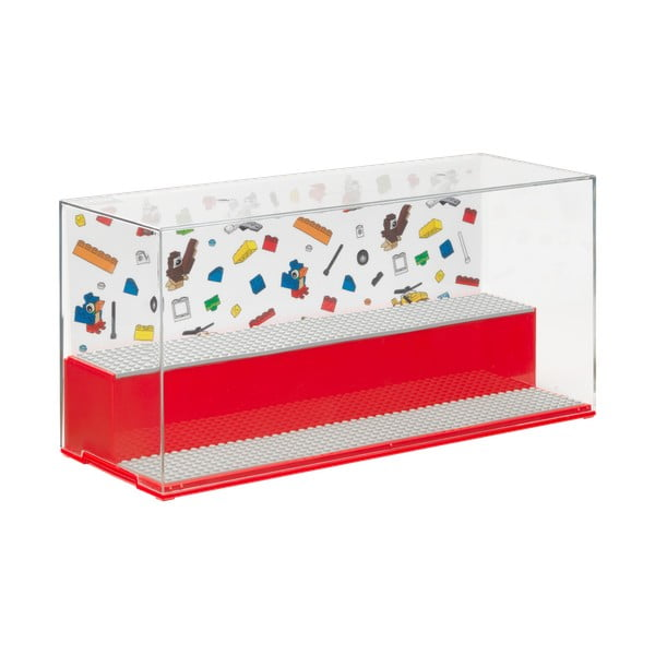 Piros, minifigura tároló - LEGO®