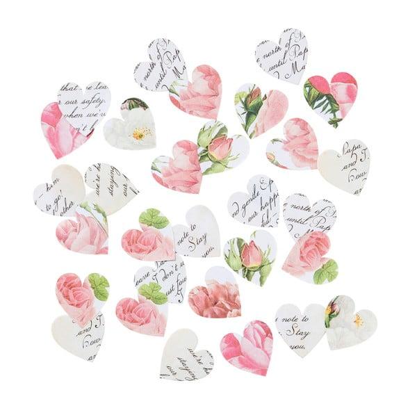 Sada 100 papírových konfet Talking Tables Blossom