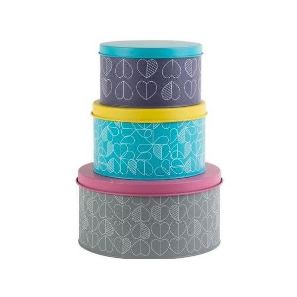 Confetti Outline 3 db-os tárolódoboz szett - Navigate