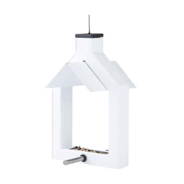 Ptačí krmítko Alicante 16 cm, bílé