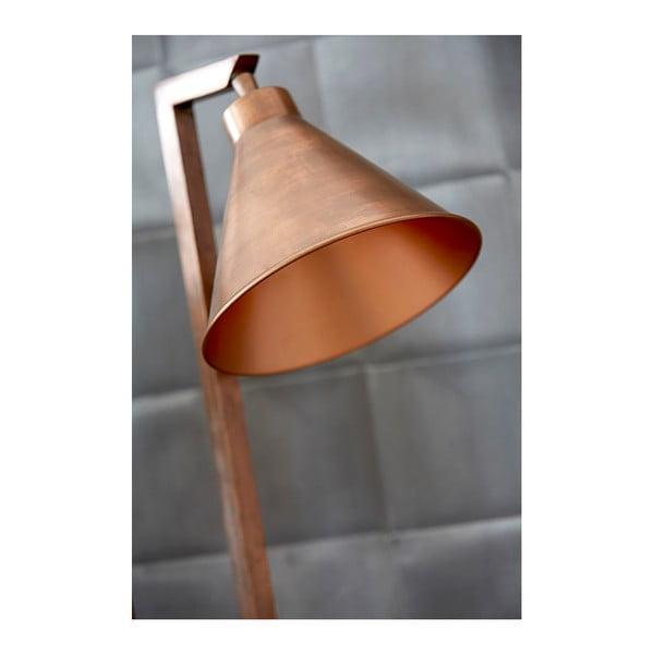 Stolní lampa v měděné barvě Canett Solrød