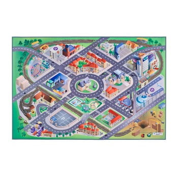 Covor pentru copii Universal Grip District, 100 x 150 cm imagine