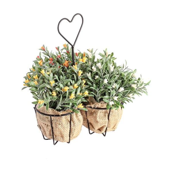 Umělé květiny ve stojanu Corta