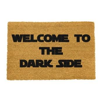 Covoraș intrare din fibre de cocos Artsy Doormats Welcome to the Darkside, 40 x 60 cm imagine