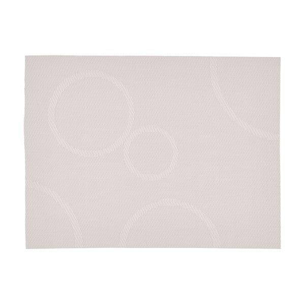 Maruko világosszürke tányéralátét, 40 x 30 cm - Zone