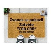 Rohožka z přírodního kokosového vlákna Artsy Doormats Crr!,40x60cm