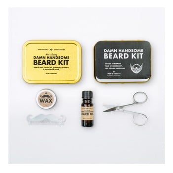 Kit Pentru Tuns Barba Men's Society Handsome Beard Grooming