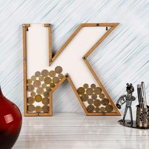 Dekorativní rámeček/kasička s plexisklem K