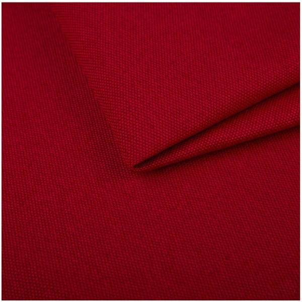 Červená rozkládací pohovka s lenoškou Cosmopolitan design Milano