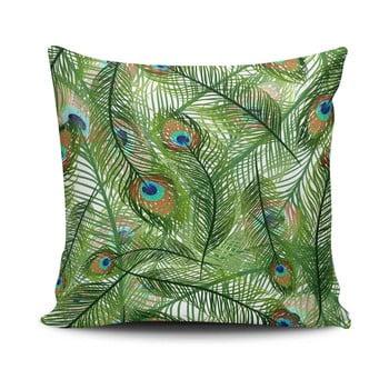 Față de pernă din amestec de bumbac Cushion Love Jungle, 45 x 45 cm