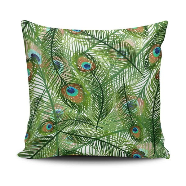 Față de pernă din amestec de bumbac Cushion Love Jungle, 45 x 45 cm