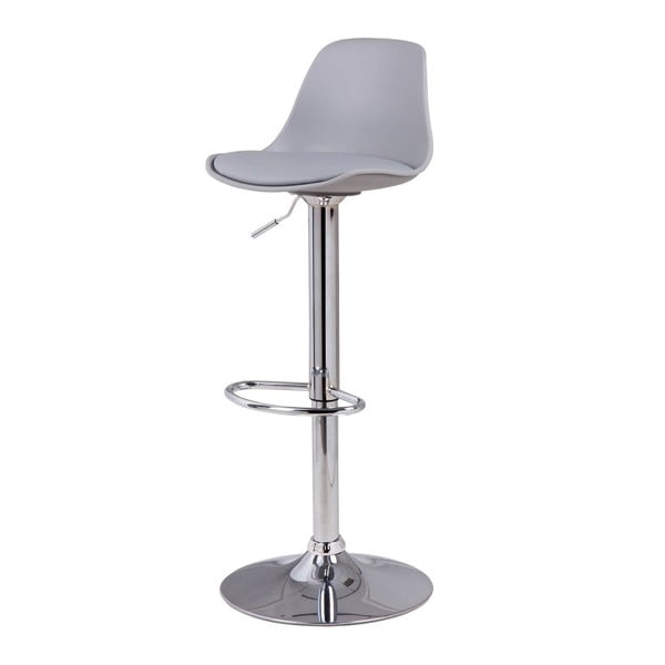 Scaun de bar Sømcasa Nelly, 104 cm h, gri