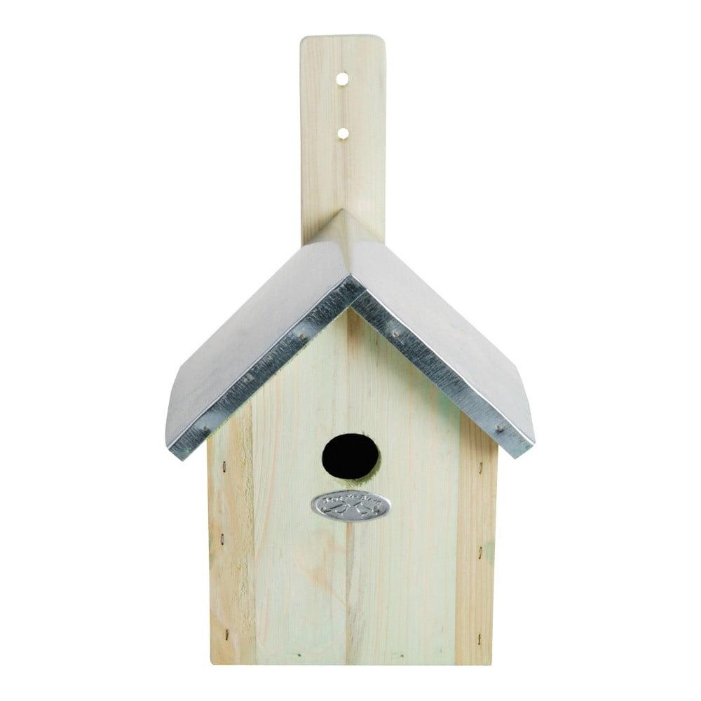 Budka pro ptáčky z borovicového dřeva Esschert Design, 18 x 32 cm