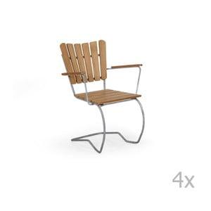 Sada 4 zahradních židlí Brafab 56-an