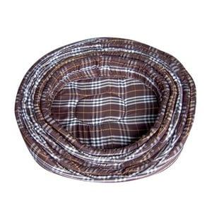 Psí pelíšek Brown Scottish, 60 cm