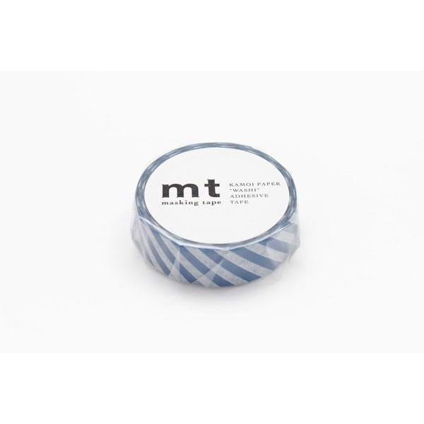 Washi páska Stripe Marine Blue