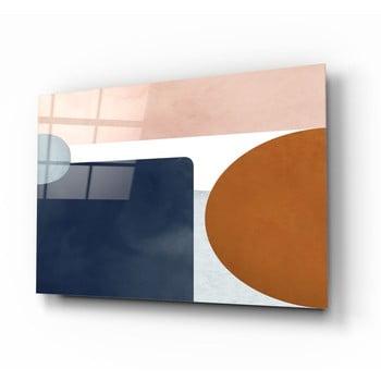 Tablou din sticlă Insigne Minimalistic imagine