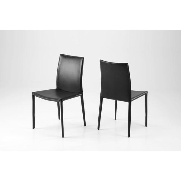 Jídelní židle Andrew, černá
