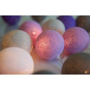 Șirag luminos Irislights Lavender, 20 beculețe de la Irislights
