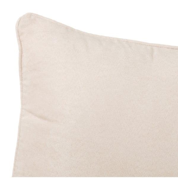 Béžový polštář Unimasa Loving, 45 x 45 cm