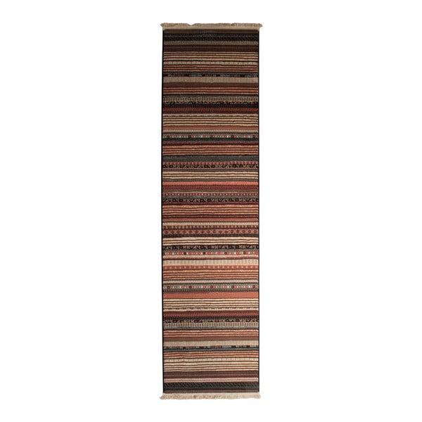 Nepal Dark mintás futószőnyeg, 67 x 245 cm - Zuiver