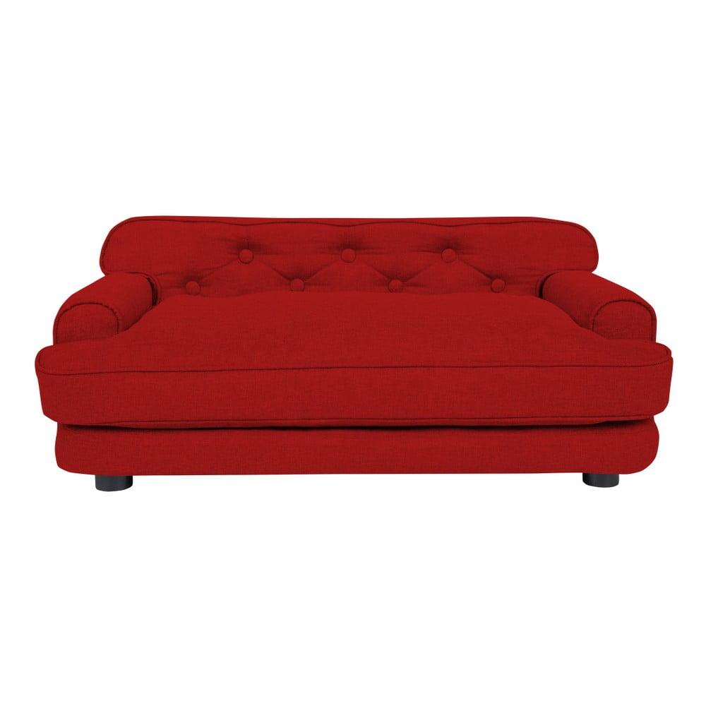 Červená pohovka pro psy Marendog Modern Lux