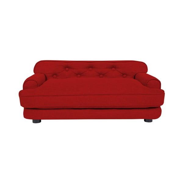 Canapea pentru câini Marendog Modern Lux, roșu