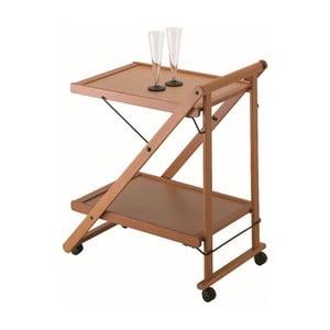 Skládací vozík z bukového dřeva Valdomo Dario Folding