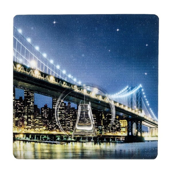 Samodržící věšák Wenko Static-Loc Brooklyn Bridge