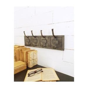 Železný věšák Orchidea Milano Industrial Look, výška 19 cm