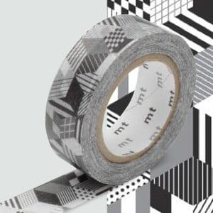 Bandă decorativă Washi MT Masking Tape Jolie, rolă 10 m