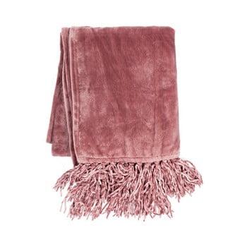 Pled Tiseco Home Studio Flanelo, 170x130cm, roz imagine