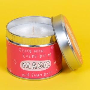 Svíčka s vůní jahod Happy News Magic Candle, 35 hodin hoření