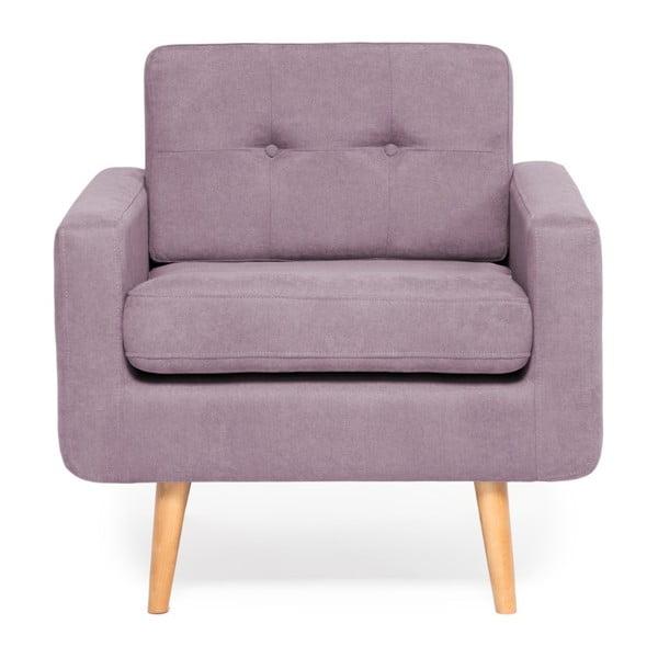 Fotoliu Vivonita Ina, violet - lavandă