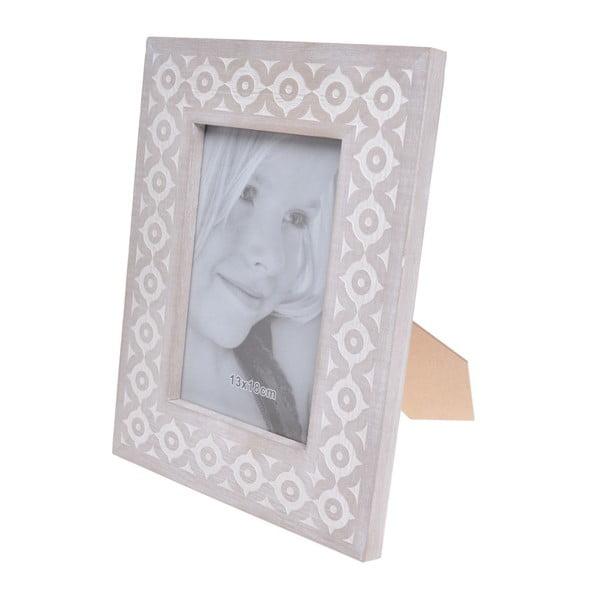 Dřevěný fotorámeček Ewax Simplo, 22 x 27 cm