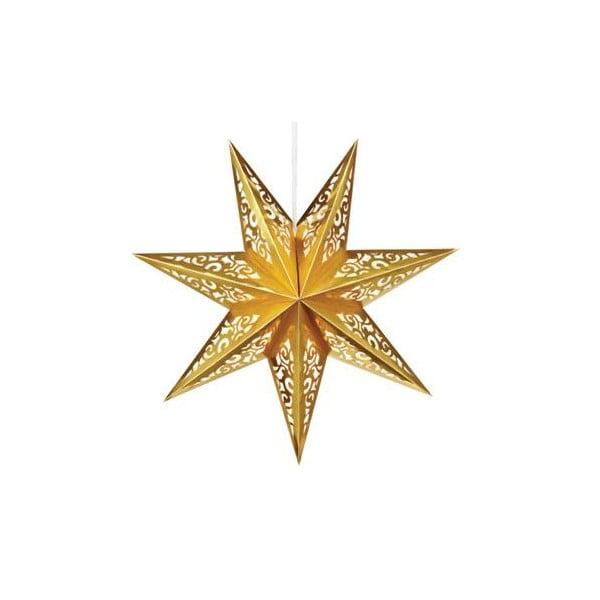 Svítící hvězda Valby Gold, 75 cm