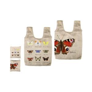 Skládací taška s potiskem motýlů Ego Dekor Fly