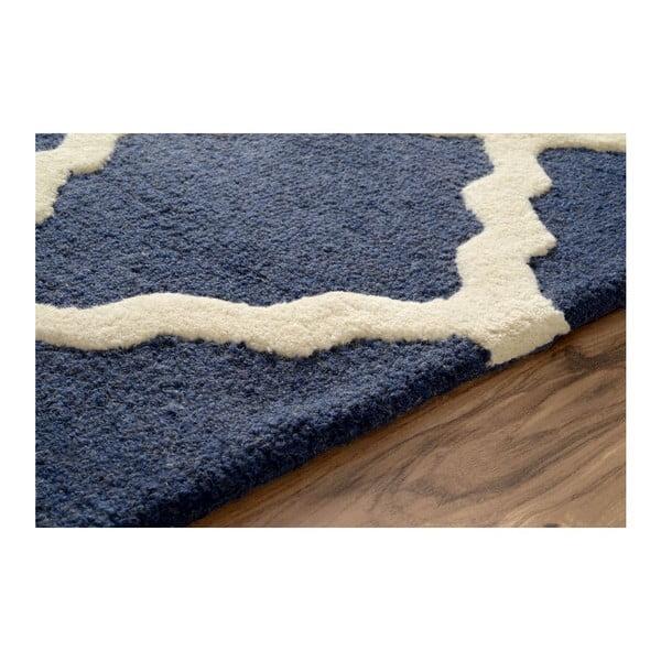 Vlněný koberec Navyno, 107 x 166 cm