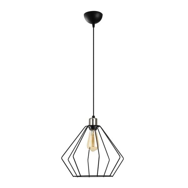 Czarna metalowa lampa wisząca Opviq lights Aristea