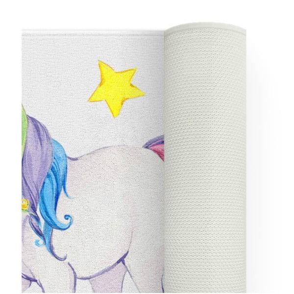 Dětský koberec OYO Kids Colorful Unicorn, 100 x 140 cm