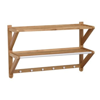 Cuier de perete din lemn de stejar Rowico Tran imagine