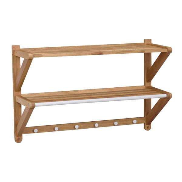 Cuier de perete din lemn de stejar Rowico Tran