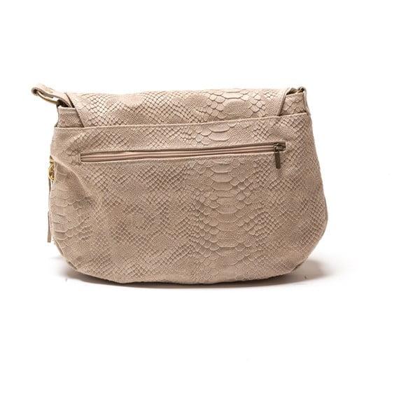 Kožená kabelka Frape, béžová