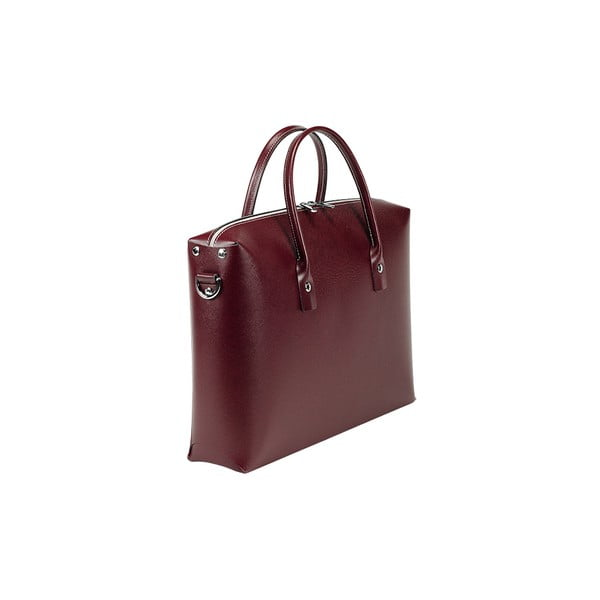 Kožená kabelka Serena Bordeaux